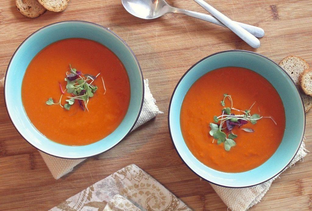 Kartoffel Möhren Suppe