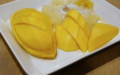 Exotisches Dessert für heiße Sommertage